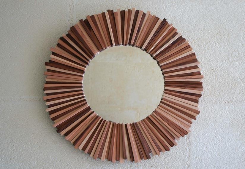 Miroir Bois Flotte Fabrication : Miroir En Bois Flott? Fabrication