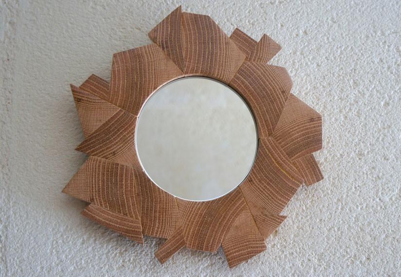miroir design miroir bois miroir bois flott quynona. Black Bedroom Furniture Sets. Home Design Ideas