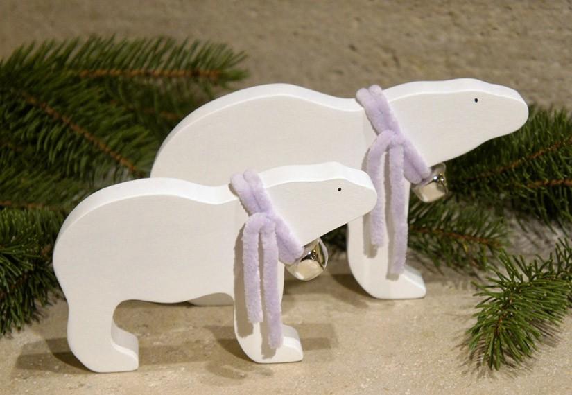 ours polaire en bois