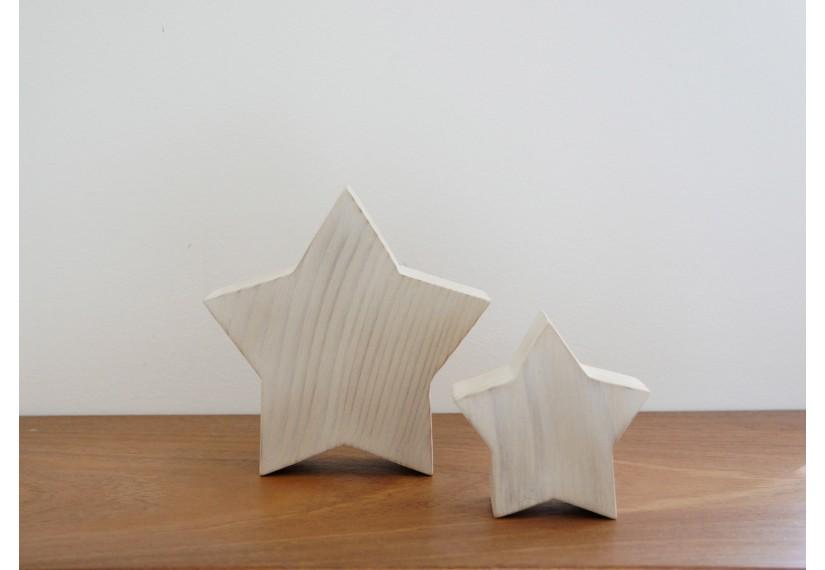Etoiles en bois